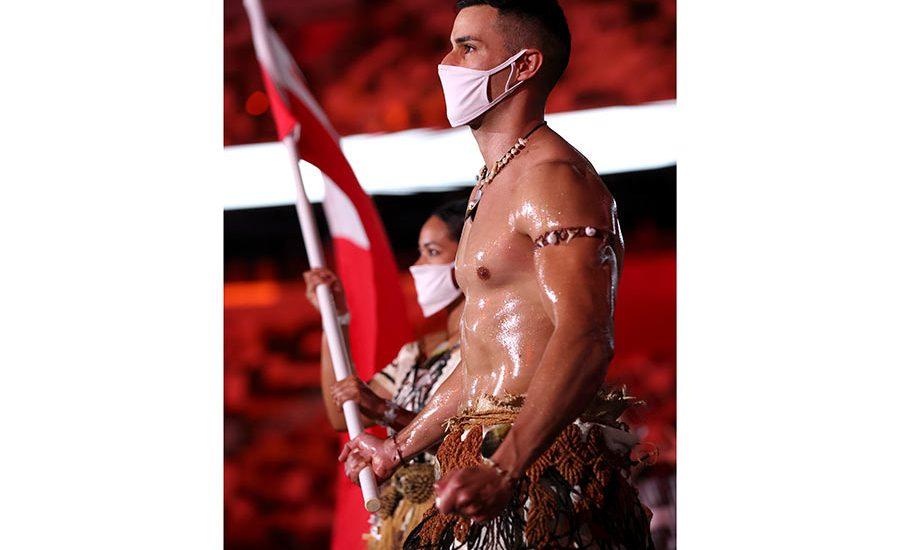 Así es Pita Taufatofua, el atleta que robó cámara en la inauguración de los JO de Tokio