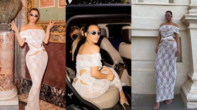 """Kim Kardashian con sexy vestido mexicano en el Vaticano: """"respeté el código de vestimenta"""""""