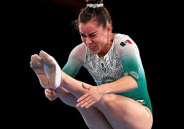 Gimnasta Dafne Navarro hace historia: es la primera mexicana en clasificar a final de trampolín