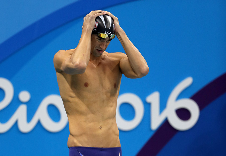 Michael Phelps atletas depresion