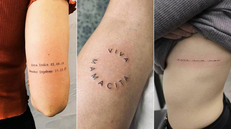 ideas de tatuajes con frases que amarás