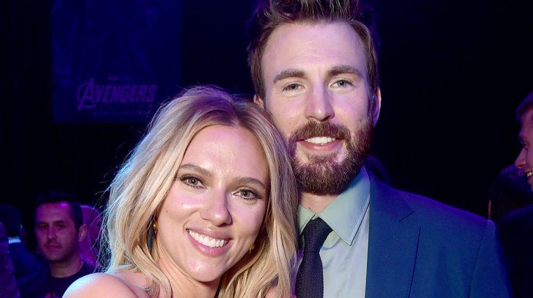 Scarlett Johansson y Chris Evans de nuevo juntos