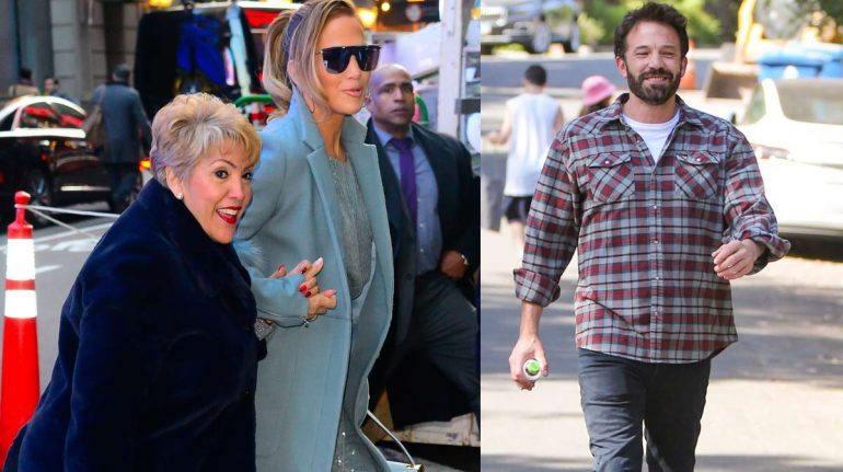 Ben Affleck y mamá de Jennifer Lopez hacen un divertido comercial