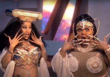 """Lizzo y Cardi B aparecen como auténticas diosas en su nuevo video """"Rumors"""""""
