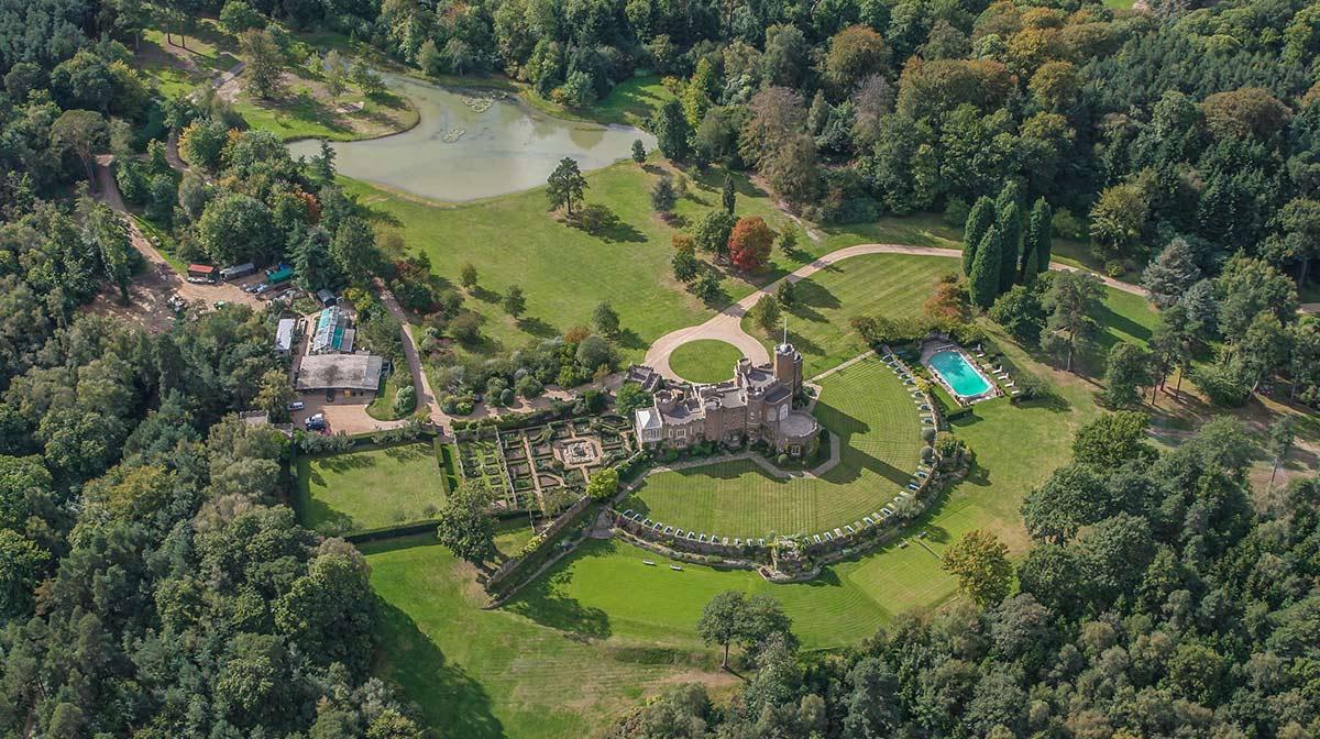 Windsor Great Park duques cambridge