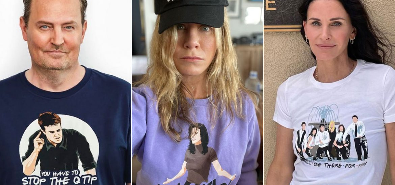 Lanzan colección de ropa de Friends con momentos icónicos de la serie