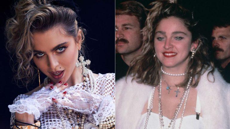 ¿Anne Winters será Madonna en biopic? La actriz felicita a la 'Reina de pop' con caracterización