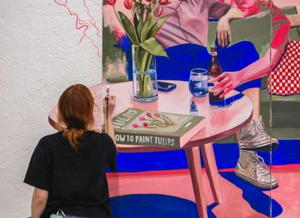 entrevista mónica loya arte cdmx