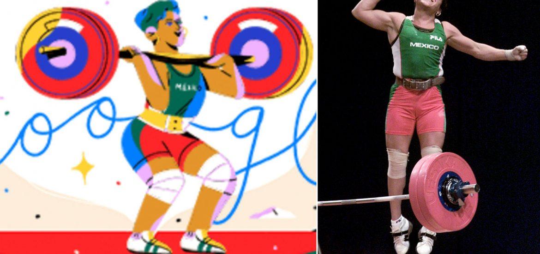 Google rinde homenaje a Soraya Jimenez, la primera mexicana en ganar oro en Juegos Olímpicos