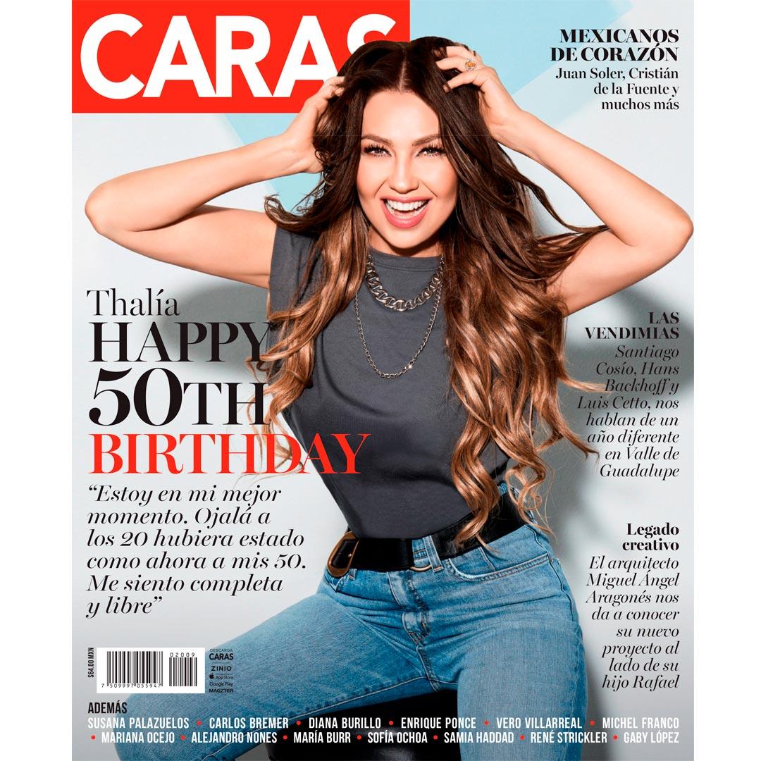 """""""Ojalá a los 20 hubiera estado como ahora en mis 50"""": Thalía celebra su cumpleaños"""