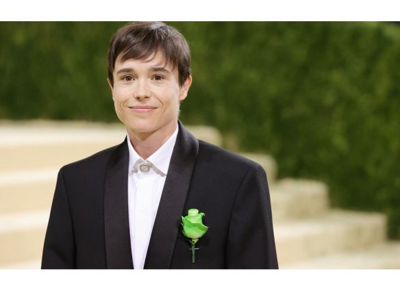 Elliot Page debuta en la Gala Met 2021 tras identificarse como transgénero