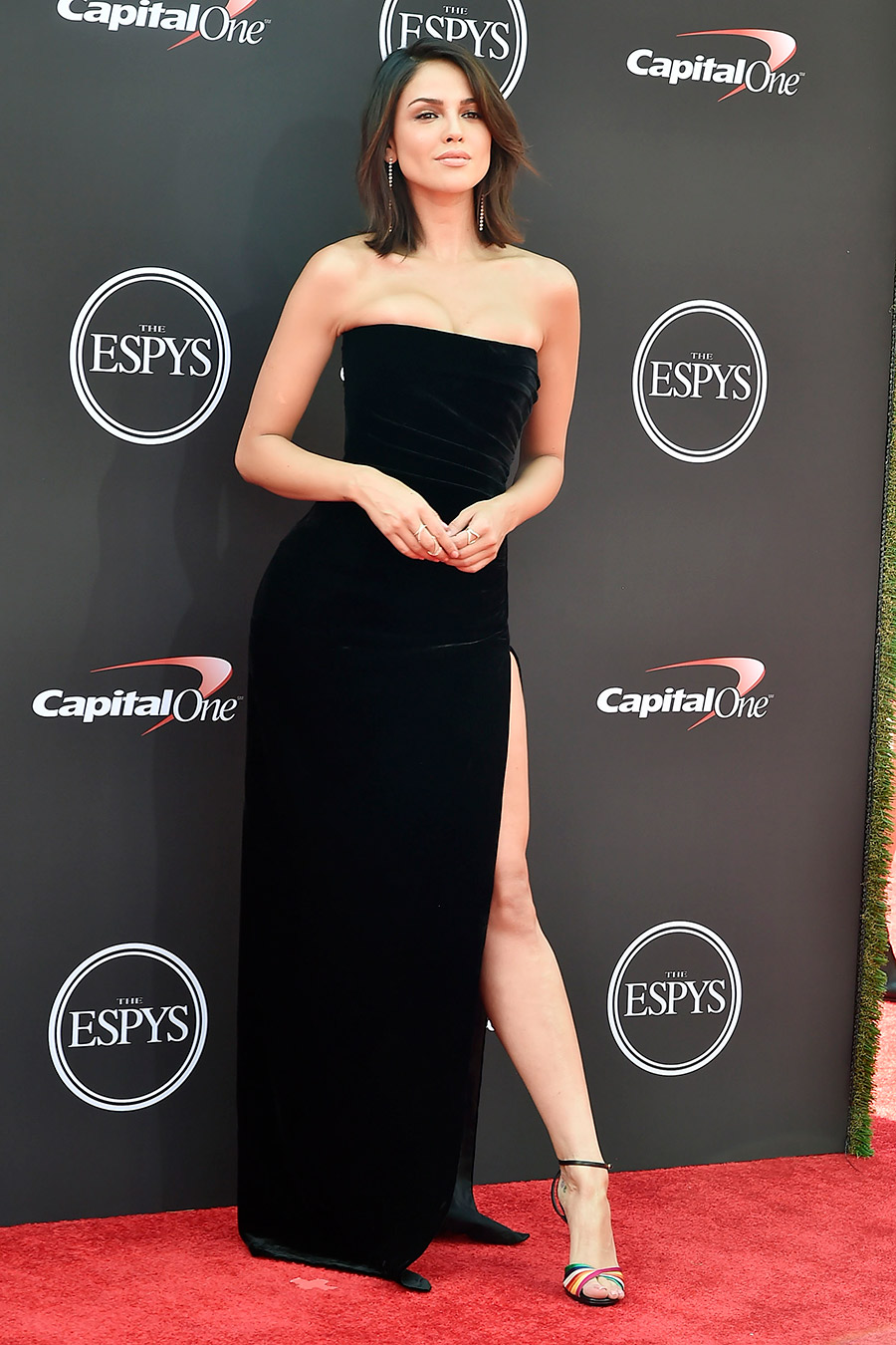 Eiza Gonzalez attends The 2018 ESPYS at Microsoft Theater on July 18, 2018