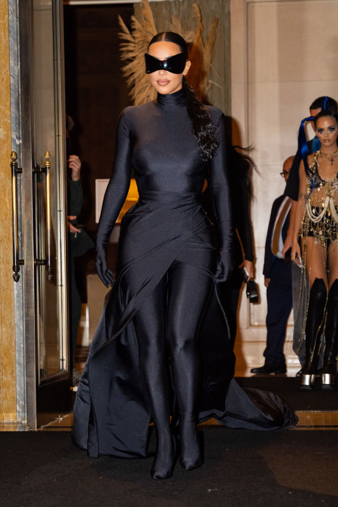 Kim Kardashian explica el por qué de su extravagante look en la Gala Met 2021