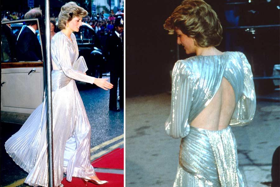 Kate Middleton se inspiró en un look que la princesa Diana también llevó a un estreno del 007