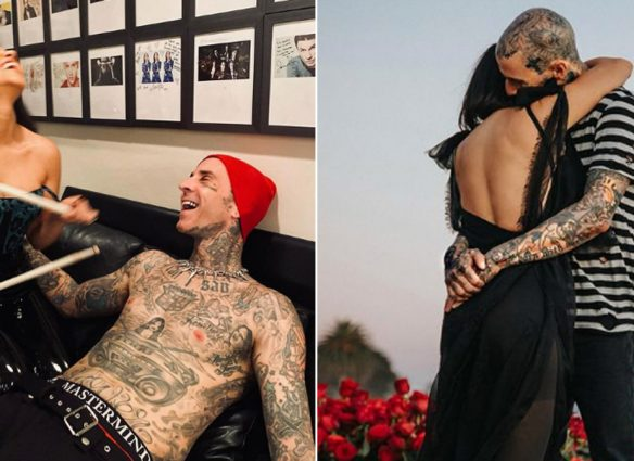 """Kourtney Kardashian y Travis Barker planean tener un bebé; es solo una cuestión de """"cuándo"""""""