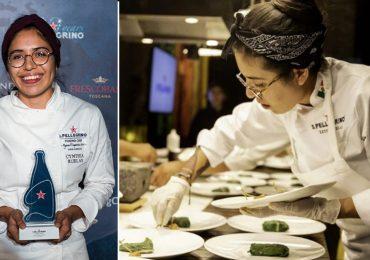 Ruelas es la mejor chef joven, mexicana y la única mujer en concurso internacional
