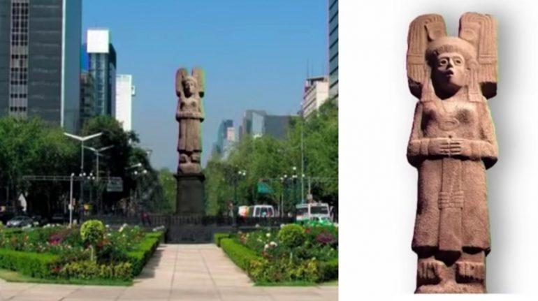 ¿Quién es la 'joven de Amajac'? La escultura que sustituirá a la de Colón en Paseo de la Reforma