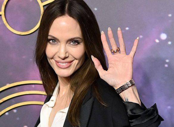 A Angelina Jolie le preguntaron sobre The Weeknd y así evitó responder