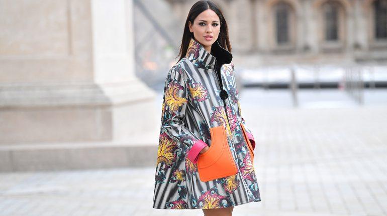 Eiza González también es la reina del 'street style' en la semana de la moda en París