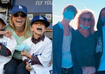 Ex de Britney Spears apoya fin de la tutela por sus hijos; ellos reaparecen guapísimos en redes