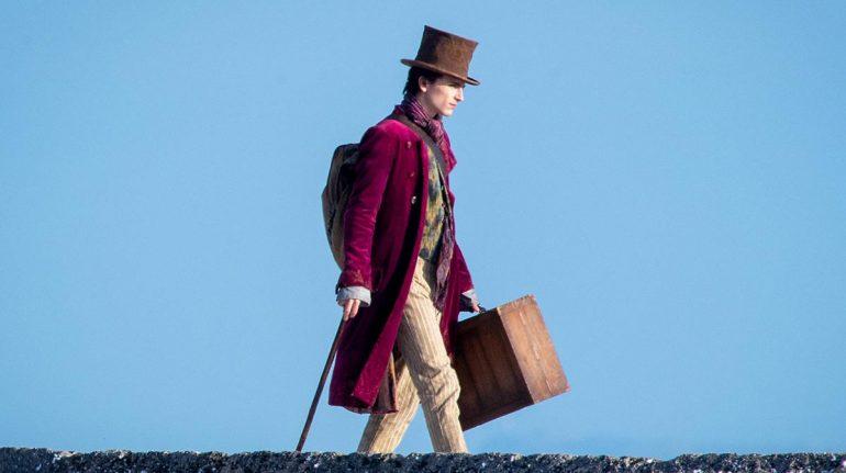 Timothée Chalamet es el nuevo Johnny Depp Wonka