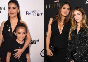 Valentina, hija de Salma Hayek, le roba la red carpet a su mamá con su increíble transformación