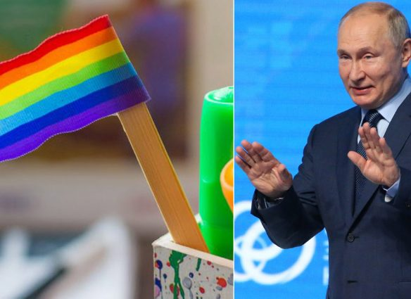 Vladimir Putin genera polémica por decir que es monstruoso enseñar a los niños que pueden cambiar de género